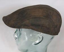 STETSON Madison Leather Flatcap Leder Ivy Cap Mütze Hut Pigskin Schirmmütze NEU