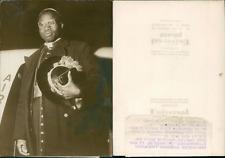 Monseigneur Zoungrana, archevêque d'Ouagadougou Vintage silver print