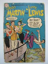 Adventures of Dean Martin and Jerry Lewis #18 (Jan 1955, DC) [GD/VG 3.0]
