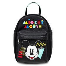 Disney Parks Mickey Mouse 80's Flashback Mini Backpack Crossbody Purse Tote Bag