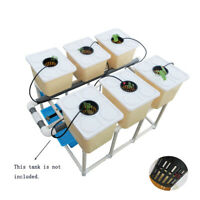 Hydroponic Indoor or Outdoor Bato Bucket Grow Kit System 6 Sites