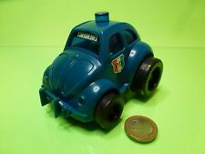 HONG KONG VINTAGE VW VOLKSWAGEN BEETLE POLICE P.D. - L12.0cm - GOOD -  FRICTION