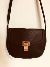 PIECES - Schultertasche Crossover Bag Feather Black Coffee braun - NEU GDK11N