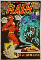 The Flash #207 VF 1971 Neal Adams Cover DC Bronze Age Classic