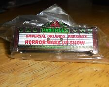 Pantages Universal Studios Orlando Presents Horror Make Up Show Pin Trading LE