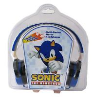 Sonic The Hedgehog Multi-Device Stereo Headphones Jazwares New Rare