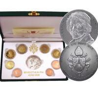 2010 * VATICANO Divisionale ufficiale euro PROOF Benedetto XVI