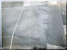 archéologie . Allemagne . photo aérienne . 1962