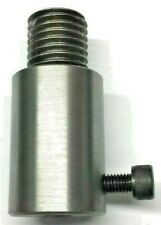 """Fly Press Punch Tool Holder 1"""" Whitworth Thread with 9/16"""" bore for flypress"""