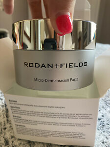 Brand NEW Rodan and Fields microdermabrasion paste Sealed In Original Box