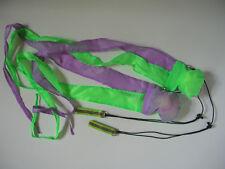 Long Tail Pois 2 farbig bunte Kiwido Komet Poi in 8 Farben zur Wahl fluoro