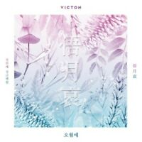 Victon-[Face The Time Of Sorrow/俉月哀/오월애] 1st Single Album CD+Poster+Booklet+Card