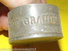 ANCIEN DOSEUR 10 GRAMMES MÉTAL 1900