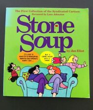 Stone Soup The First Collection By Jan Eliot Signed 1st Edition RARE Cartoon
