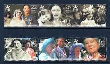 Isle of Man neuf sans charnière 2000 SG875-880 The Queen Mother's Century