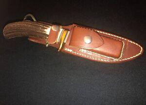 Randall Alaskan Skinner Hunting Knife -STAG -11-45 -Orlando Fla Made -Collection