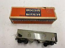 """LIONEL PRE-WAR """"OO"""" #0016 COAL CAR (EXCELLENT CONDITION) WITH ORIGINAL BOX"""