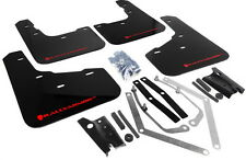 "Rally Armor ""UR"" Mud Flaps (Black w/ Red), 2014+ Fiesta ST  MF29-UR-BLK/RD"
