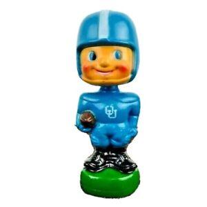 Vintage Football Bobble Head 1960s University Of Oklahoma Sooners Blue