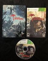 Dead Island Riptide Steelbook Edition — Complete! Good Shape! (Xbox 360, 2013)