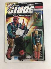 GI Joe Downtown Mortar Man Micro Action Figure Hasbro 1988 Vintage