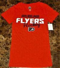 """""""NEW"""" Philadelphia Flyers ~ Logo JERSEY SHIRT ~ NHL Girl's Sz M 7/ 8 Med Orange"""