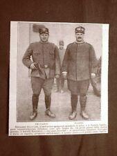 Giovanni ed Emilio Raicevich di Trieste nel 1916 WW1 Prima guerra mondiale