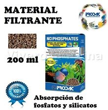 NO FOSFATOS 200 ML MATERIAL PARA FILTRO.