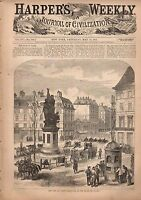 1871 Harpers Weekly May 13-War in Paris; Salmon fishing;Crisis in China-Shanghai