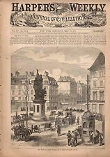 1871 Harpers Weekly May 13-War in Paris; Salmon fishing;Crisis in China-Shanghai