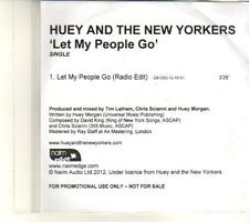 (DR944) Huey And The New Yorkers, Let My People Go - 2012 DJ CD