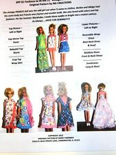 NG Creations Sewing Pattern #PP91 Summer Wardrobe fits Francie Casey Twiggy Doll