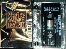 STRIKE UP THE BAND CASSETTE 6 RDC 92656 BLACK DYKE CORY MARINES RAF MASSED BANDS