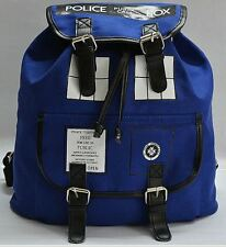 DOCTOR WHO TARDIS SLOUCH BAG BACKPACK MEDIUM  BNWT