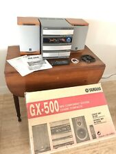 COMPLETE Yamaha GX-500 STEREO SYSTEM 3CD Cassette AM/FM NX-GX500 Speakers Remote