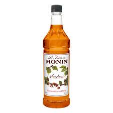 Monin Hazelnut, 1 Liter (4 Pack)