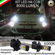 LAMPADE H4 A LED FIAT 500X 8000 LUMEN ANABBAGLIANTE / ABBAGLIANTE NOAVARIA 6000K