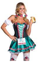 Bavarian Heidi Hottie German Costume, Dreamgirl 6445, Adult 5 Piece, Size LARGE