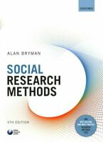 Social Research Methods by Alan Bryman 9780199689453 | Brand New
