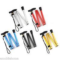 Adjustable Aluminum Metal Cane Walking Stick Folding Column Outdoor Tools