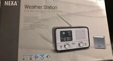 Nexa Weather Station Radio with In/Out Thermometer