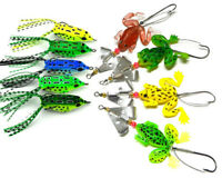 Lures Lure Hook Frog Floating High Quality Simulation Frog Bait Bass Fishing LN