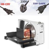 110/220V 100RPM Electric Slicer Lamb Slices Shred Cut Meat Machine US/UK/EU Plug