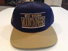 reputable site a8221 5e919 VTG NWT West Virginia University Mountaineers Snapback Annco Hat - Cool