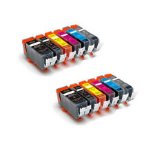 12 New Ink Pack w/ smart chip for Canon 220 221 MP980 MP990