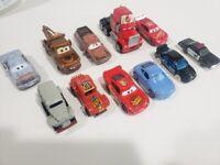 Disney Pixar Cars Target Piston Cup Race 11 Pack Mater Lightning Bolt