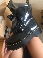 New Women's Dr. Marten Jadon Molly Patten Leather, Black, Size 9 US