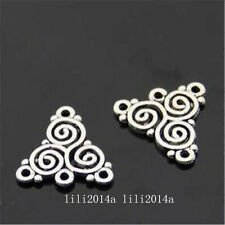 50pc Retro Tibetan Silver connector Jewelry Accessories wholesale   PL963