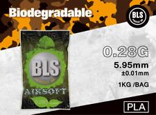 BLS Billes Bio 6mm Premium 0.28g 1kg / 3572 billes pour  Airsoft