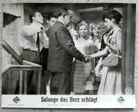 """Kino Aushangfoto """"Solange das Herz schlägt""""  s/w"""